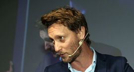 ועידת Mind the tech TLV ליאור סושרד אמן החושים וסמנכ״ל המותג robotemi , צילום: יריב כץ