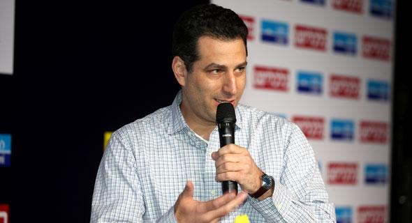 Dror Topf, head of group strategy and innovation at Bank Leumi. Photo: Yariv Katz