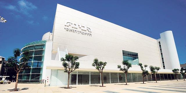 """בניין הבימה בת""""א, צילום: אוראל כהן"""