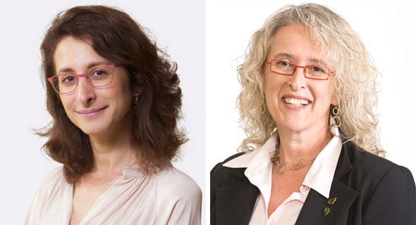 """עו""""ד אורית גונן (מימין) ועו""""ד אלכסנדרה כהן, צילומים: שגב צילום ואוראל כהן"""