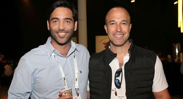 אורן לוי ותמיר מזרחי , צילום: אוראל כהן