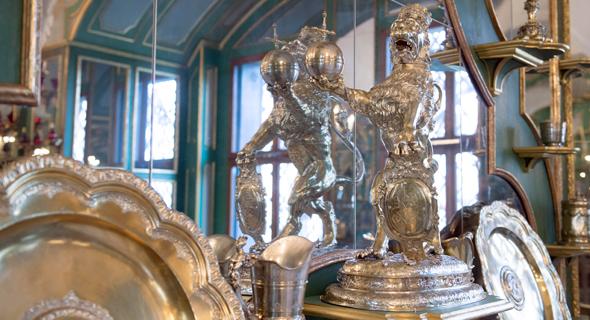 חלק מאוסף התכשיטים, צילום: AP