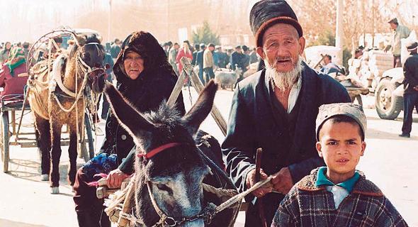 תושבים אויגורים בסין, צילום: wikipedia