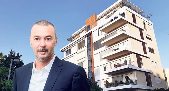 מריוס נכט והבניין בתל אביב שבו רכש את הדופלקסים