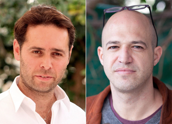 מימין: מייסד תיקון עולם צחי כהן וברק רוזן, בעל מניות