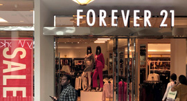 """חנות של פוראבר 21 בפנסילבניה, ארה""""ב, צילום: רויטרס"""