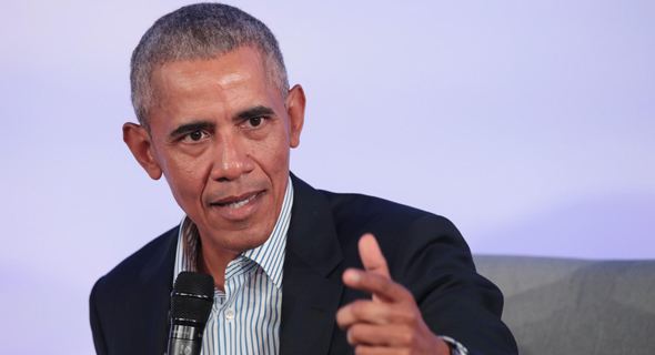 """נשיא ארה""""ב לשעבר ברק אובמה, צילום: AFP"""
