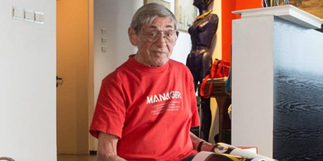 חתן פרס ישראל בעיצוב דן ריזינגר הלך לעולמו בגיל 85