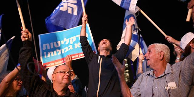 הפגנת הליכוד בתל אביב: רק נתניהו הוא מעל החוק