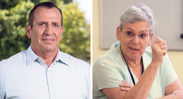 דיטה ברוניצקי ואייל ולדמן, צילום: אוראל כהן, ענר גרין