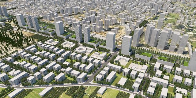 """הופקדה תוכנית לשכונת מגורים בת 6,500 יח""""ד במזרח רחובות"""