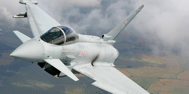 ראשון אבירי המלכה. טייפון של חיל האוויר הבריטי, צילום: RAF