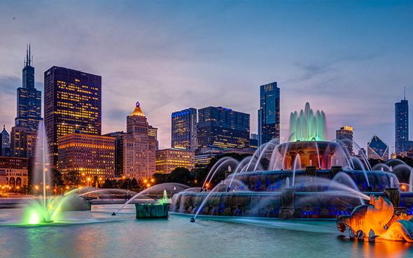 שיקגו ב לילה אל על, קרדיט: gettyimages
