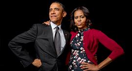 ברק ומישל אובמה, צילום: Gillian Laub