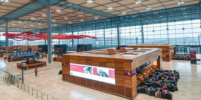 שדה התעופה החדש , צילום: איי פי