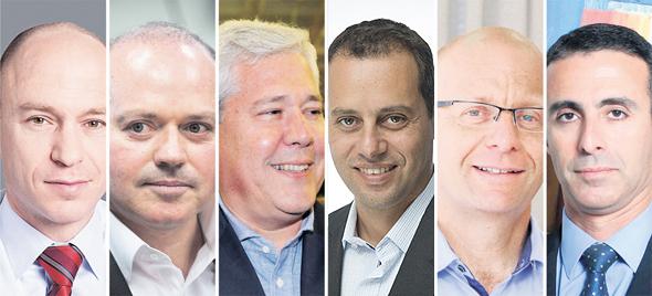 """מנכ""""לי חברות הביטוח, צילומים: עמית שעל, פאביאן קולדורף, כפיר סיון, יונתן זינדל, כלל ביטוח"""