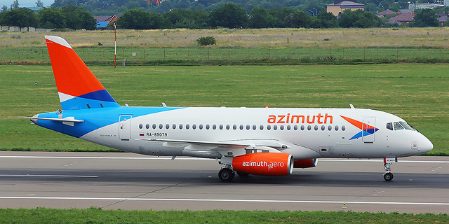Russian Airline Azimuth Arrives in Israel