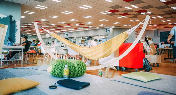 מטה יאהו בטוקיו. כשחלל העבודה הוא פתוח וורסטילי אפשר ללמוד מכל אחד, צילום: Yahoo