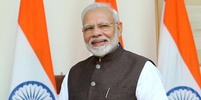 ראש ממשלת הודו נרנדרה מודי , צילום: אם סי טי