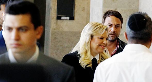 שרה נתניהו במשפט הדיבה שהגיש נגדה מני נפתלי 2.12.19, צילום: שאול גולן