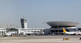 """מגדל פיקוח שדה ה תעופה בן גוריון טרמינל 3 נתב""""ג, צילום: ערן גרנות"""