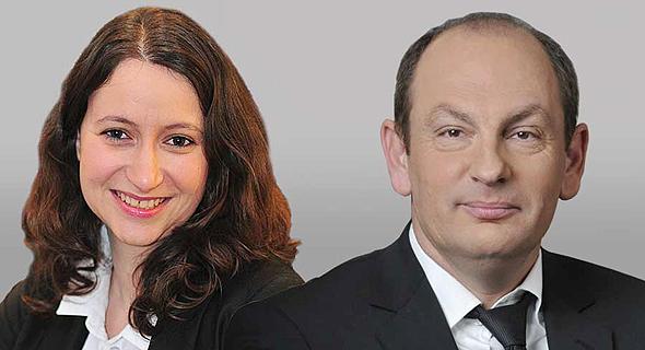 עורכי הדין מאיר פורגס ונעה יגלה