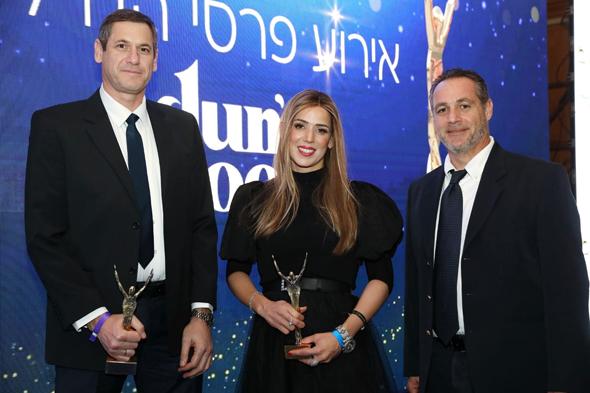 מימין: אריאל שרייבר, חני הורוביץ וארנון פרידמן