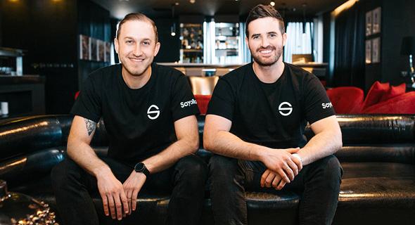 יונתן אטיאס ואיתן נורל, מייסדי חברת Sayollo, צילום: שי הנסב