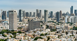 תל אביב  מבט על זירת הנדלן, צילום: shutterstock