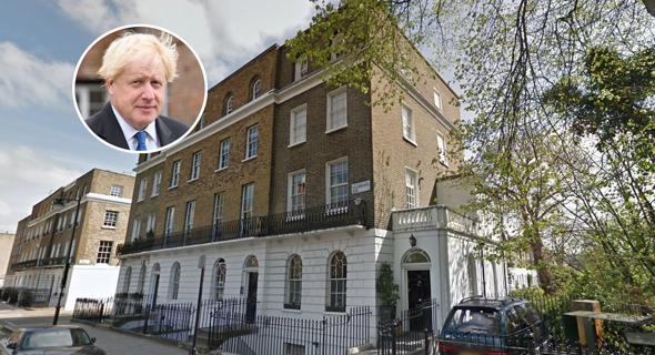הבית בלונדון שמכר ראש ממשלת בריטניה בוריס ג