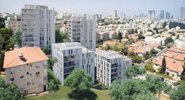 פרויקט פינוי בינוי ב גבעתיים של חברת דוניץ, הדמיה: דני קייזר אדריכלים