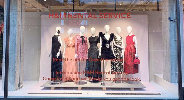 פריטי השכרה בסניף H&M בשטוקהולם, צילום: ANNA RINGSTROM