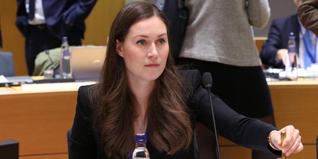 סאנה מארין, ראש ממשלת פינלנד, צילום: גטי אימג