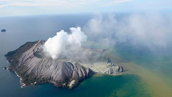 הר הגעש בניו זילנד