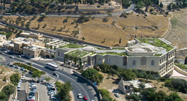 """הדמיית מלון הר ציון בירושלים לאחר ההרחבה, הדמיה: לאה רובננקו אדריכלים בע""""מ, View Point"""