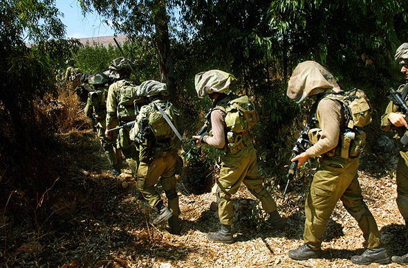 """חיילים של צה""""ל, צילום: בלומברג"""