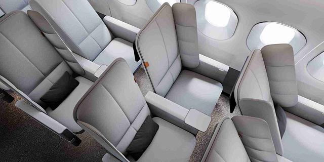 המושב החדש במטוס שיאפשר לכם לישון בנוחות גם במחלקת תיירים