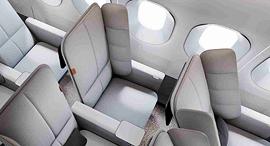 מושב מטוס עיצוב יוניברסל מובמנט 1, צילום: New Territory
