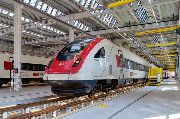 SBB train. Photo: PR