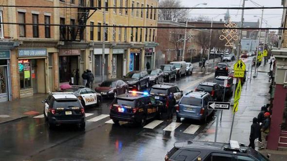 המשטרה נפרסה בכוחות גדולים