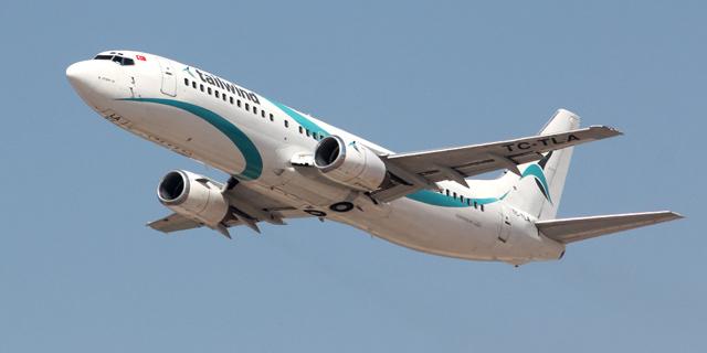 מטוס בואינג 737, צלם: ערן גרנות