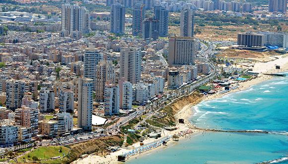 """תל אביב קו החוף זירת הנדל""""ן, צילום: שאטרסטוק"""