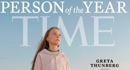 גרטה שער טיים 2019, צילום: TIME