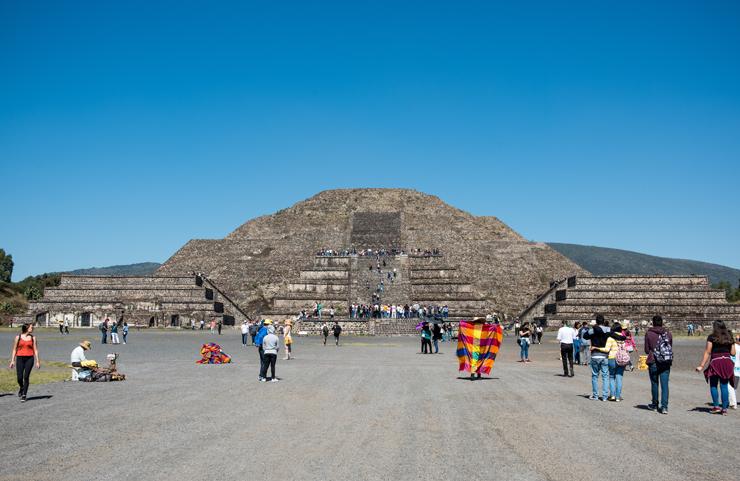 פירמידת השמש, טֵאוֹטִיװַאקַאן מקסיקו
