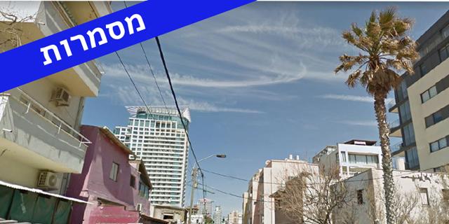 """רחוב הירקון בתל אביב זירת הנדל""""ן, קרדיט: גוגל סטריט ויו"""