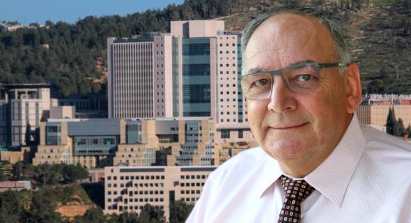 זאב רוטשטיין מנכל בית חולים הדסה ירושלים, צילום: אוראל כהן, מיקי אלון