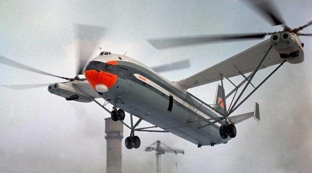 הקברניט מיכאיל מיל מסוק מסוקים, צילום: Russian Helicopters