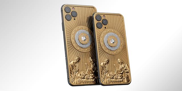 האייפון של האוליגרכים לכריסמס: יהלום 3 קראט, ישו מזהב ותג מחיר של 130 אלף דולר