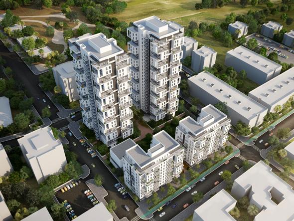 הפרויקט במתחם אדירים. 450 דירות חדשות במקום 173 הקיימות