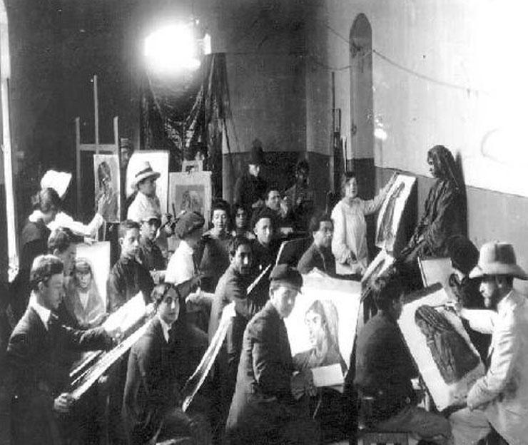 התנועה הציונית ראתה צורך הכרחי בבית מדרש לאומנות